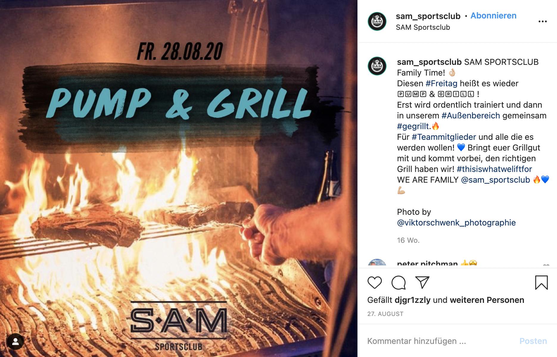 SAM BBQ